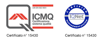 QUALITY CERFICATE UNI EN ISO 9001:2008 TO VALLI GRANULATI