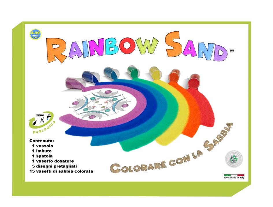 RAINBOW SAND: LIBERA LA TUA FANTASIA